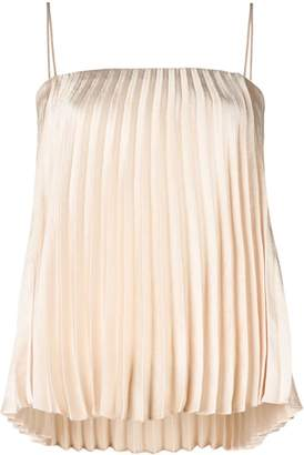 Vince pleated cami top