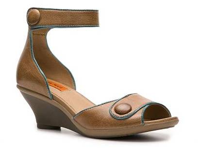 Miz Mooz Clementine Wedge Sandal