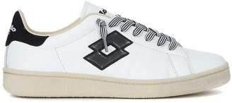 Lotto Leggenda Autograph Black And White Leather Sneaker