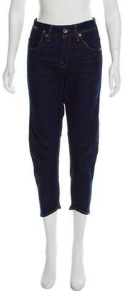 G-Star RAW High-Rise Straight-Leg Jeans w/ Tags