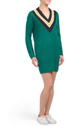 Juniors Varsity Sweater Dress