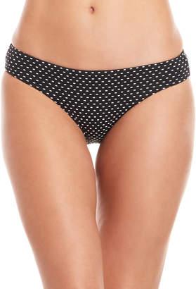 Red Carter Navy Patterned Bikini Bottom