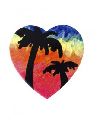Saint Laurent 'Eighties Hawaii' pin $445 thestylecure.com