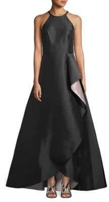 Carmen Marc Valvo Halterneck Ball Gown