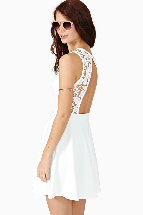 Nasty Gal Daydream Crochet Dress