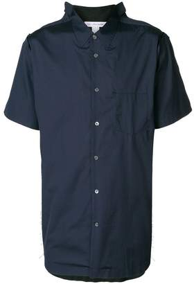 Comme des Garcons short-sleeve fitted shirt