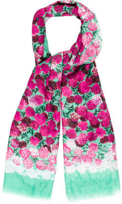 Marc Jacobs Marc Jacobs Floral Lightweight Scarf
