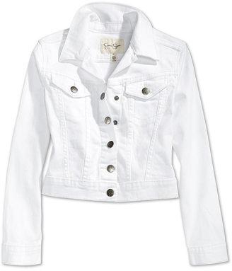 Jessica Simpson Pixie Twill Denim Jacket, Big Girls (7-16) $59.50 thestylecure.com