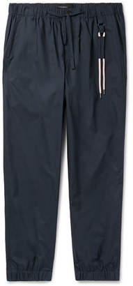 Craig Green Tapered Cotton-Ripstop Drawstring Trousers - Men - Navy