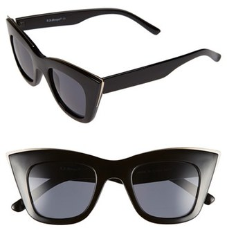 A.J. Morgan 'Ginger' 48mm Sunglasses $24 thestylecure.com