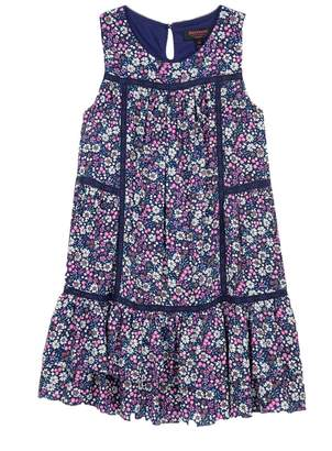 Juicy Couture Dobby Rayon Nico Floral Dress