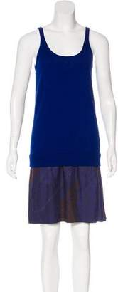 Hermes Clic-Clac à Pois & Quadrige Dip-Dye Dress