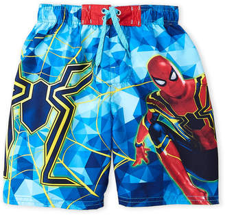 Spiderman (Boys 4-7) Spider Man Board Shorts
