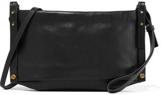 Isabel Marant Drissa Leather Shoulder Bag - Black