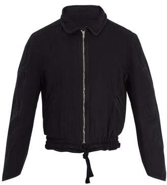 Isabel Marant Faust Cotton Bomber Jacket - Mens - Black