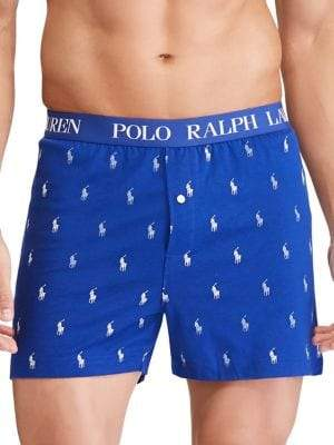 Polo Ralph Lauren Logo Jersey Boxer Briefs