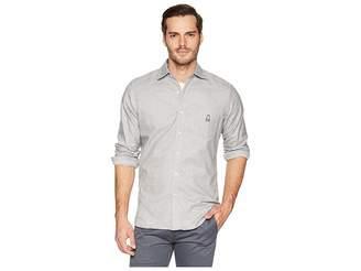 Psycho Bunny Long Sleeve Flannel Shirt