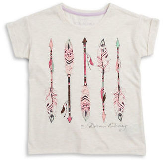 Jessica Simpson Girls 7-16 Arrow Tee $30 thestylecure.com