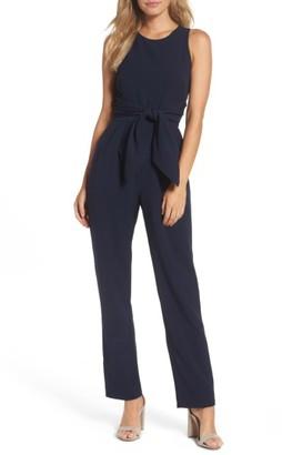 Women's Eliza J Crepe Jumpsuit $118 thestylecure.com