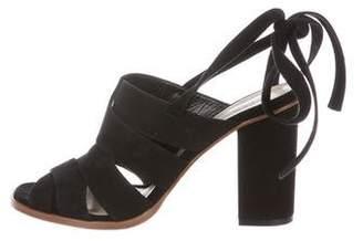 LK Bennett Suede Wrap-Around Sandals