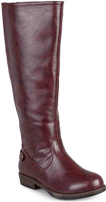 Journee Collection Lynn Wide Calf Riding Boot - Women's