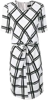 Steffen Schraut check print dress