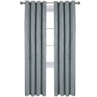 Asstd National Brand Jensen Blackout Grommet-Top Curtain Panel