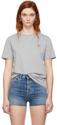 McQ Grey Swallow Badge T-Shirt
