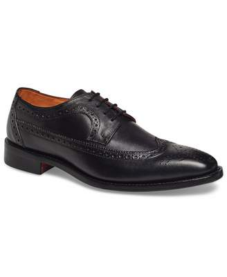 Anthony Logistics For Men Veer Mens Regan Oxford Full Brogue Leather Shoes in Goodyear Welted Construction