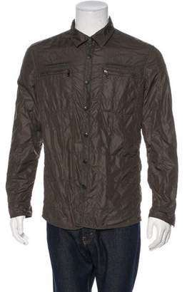 John Varvatos 2016 Nylon Snap-Front Jacket