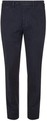 Canali Flecked Slim Trousers