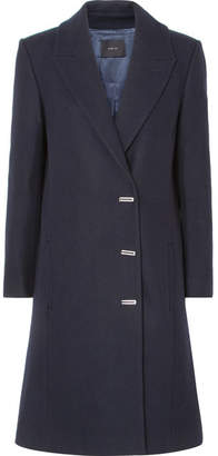 Dion Lee Wool-blend Felt Coat - Navy