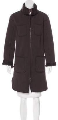 MM6 MAISON MARGIELA MM6 by Maison Martin Margiela Knee-Length Zip-Up Coat
