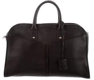 Saint Laurent Grained Leather Handle Bag