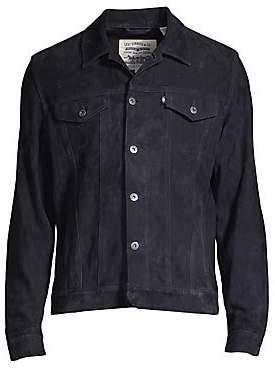 Levi's Made& Crafted Made& Crafted Men's The New West Type III Trucker Suede Jacket