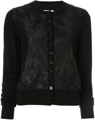 MM6 MAISON MARGIELA lace classic cardigan