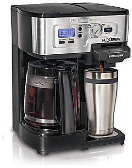 Hamilton Beach FlexBrew Single-Serve & Carafe Coffeemaker