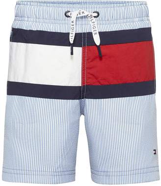 Tommy Hilfiger Boys Stripe Flag Swim Short