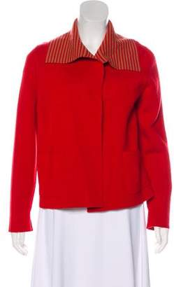 Akris Cashmere Long Sleeve Jacket