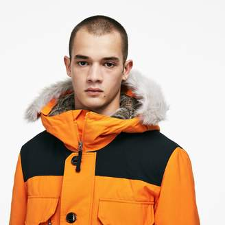 Lacoste Unisex LIVE Water-Resistant Canvas Quilted Parka