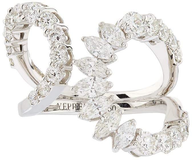 Yeprem White Gold Diamond Ring