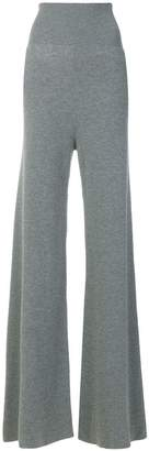 Stella McCartney ribbed wide-leg trousers