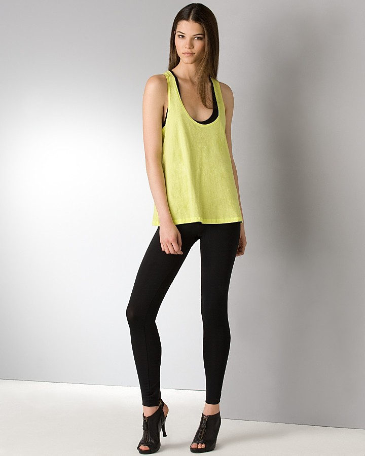 LnA Cotton Layering Racerback Tank Top and