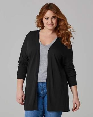 Fashion World Linen Mix Cardigan