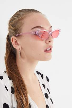 Cat Eye Planet i Pink Electra Cat-Eye Sunglasses