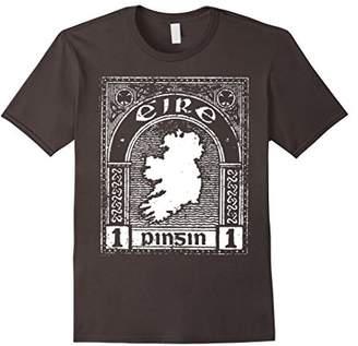 Eire Ireland Stamp Vintage Top T-shirt