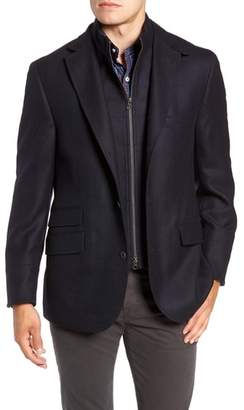 FLYNT Regular Fit Wool & Cashmere Hybrid Sport Coat