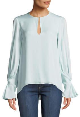 Joie Abekwa Long-Sleeve Silk Top