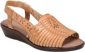 Comfortiva Leather Slingback Sandals - Formosa