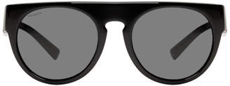 Versace Black Greca Rock Sunglasses